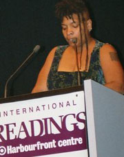 Photo of Nalo Hopkinson, 2005
