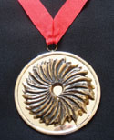 Sunburst Award medallion
